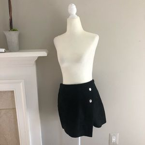 Black envelope shorts